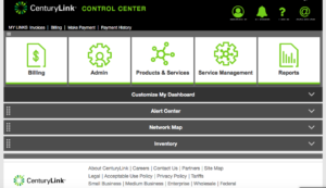 CenturyLink Control Center Upgraded